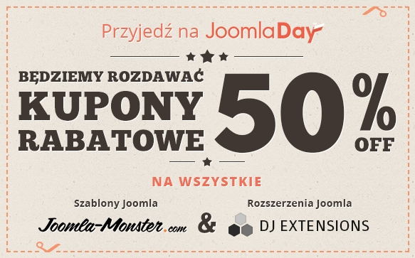 Joomla-Monster na JoomlaDay Poland!
