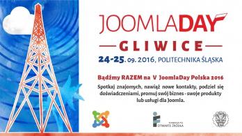 JoomlaDay Polska 2016 - ruszyła sprzedaż biletów